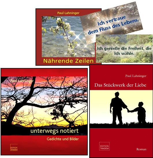 Lyrik und Roman von Paul Lahninger