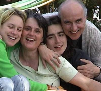 Paul Lahninger mit Familie 2001