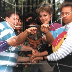 menschliches Spinnennetz